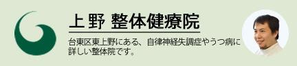 上野整体健療院 当サイトの管理人が院長です。2017年に台東区東上野に開院した整体院です。
